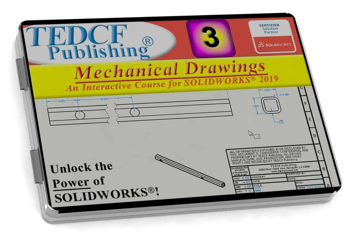 SolidWorks 2019 Mechanical Drawings Training Course